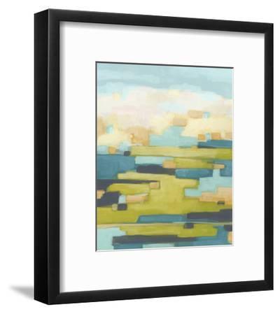 Pixel Horizon I-June Vess-Framed Art Print