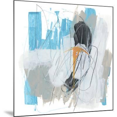 Symphony in Riffs III-June Vess-Mounted Premium Giclee Print