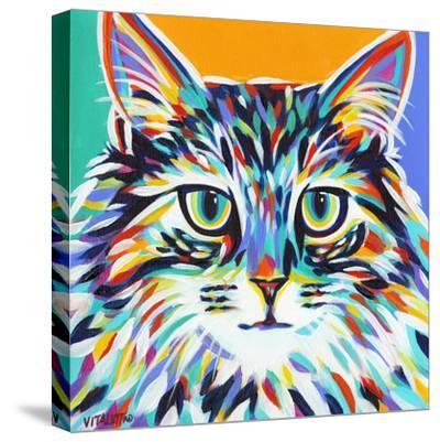 Dramatic Cats I-Carolee Vitaletti-Stretched Canvas Print