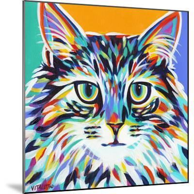 Dramatic Cats I-Carolee Vitaletti-Mounted Premium Giclee Print