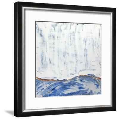 Blue Highlands II-Alicia Ludwig-Framed Art Print