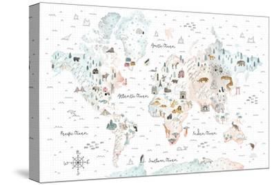 World Traveler I-Laura Marshall-Stretched Canvas Print
