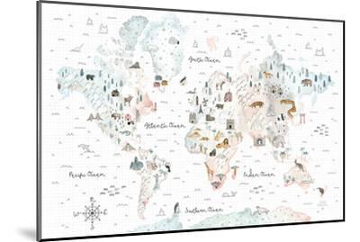World Traveler I-Laura Marshall-Mounted Art Print