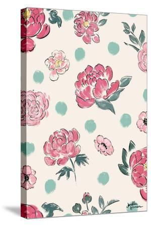 Live in Bloom Step 02A-Janelle Penner-Stretched Canvas Print