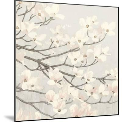 Dogwood Blossoms II Gray-James Wiens-Mounted Art Print