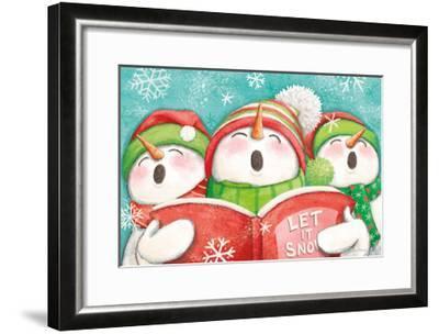 Let it Snow IV-Mary Urban-Framed Art Print