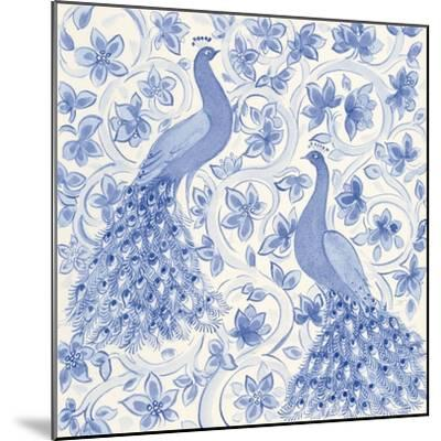 Peacock Garden II-Miranda Thomas-Mounted Art Print