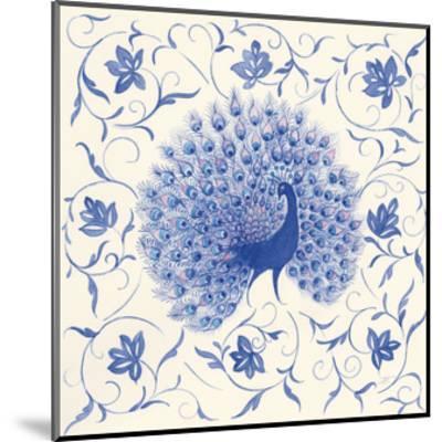 Peacock Garden I-Miranda Thomas-Mounted Art Print
