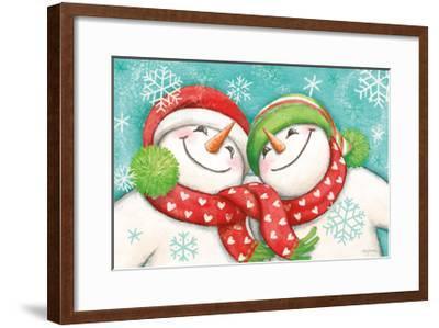 Let it Snow II Eyes Open-Mary Urban-Framed Art Print