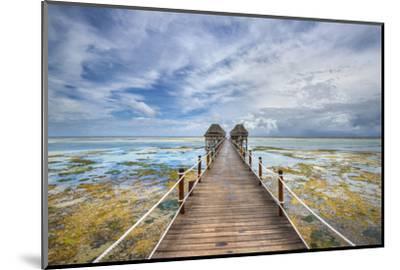 Zanzibar Pier-Marco Carmassi-Mounted Photographic Print