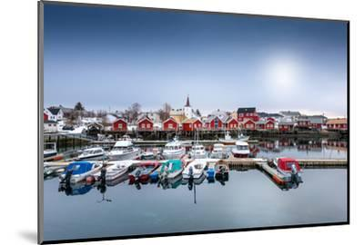Port of Reine-Philippe Sainte-Laudy-Mounted Photographic Print