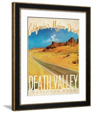 Travel Poster - California-The Saturday Evening Post-Framed Giclee Print