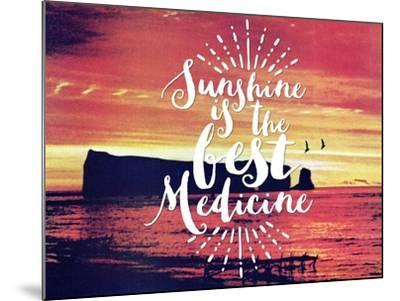 Sunshine Is The Best Medicine-The Saturday Evening Post-Mounted Giclee Print