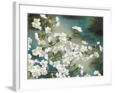 Floral - Copper-The Saturday Evening Post-Framed Giclee Print