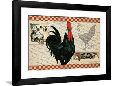Checkered Chickens - Image 4-The Saturday Evening Post-Framed Giclee Print