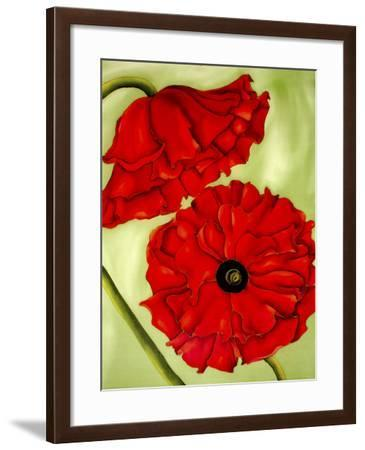 Two Poppies-Holly Carr-Framed Giclee Print
