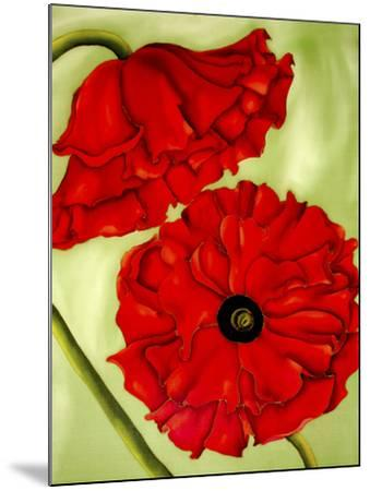 Two Poppies-Holly Carr-Mounted Giclee Print