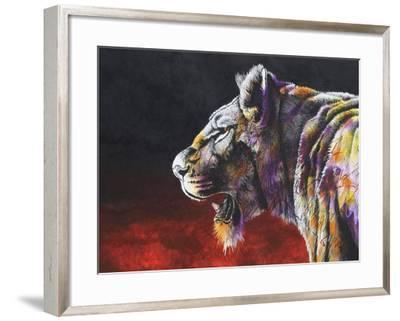 The Hunt-Graeme Stevenson-Framed Giclee Print