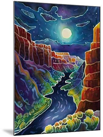Moonlit Canyon-Harriet Peck Taylor-Mounted Giclee Print