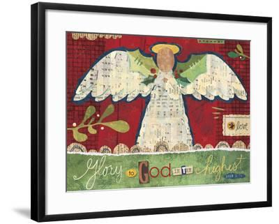 Christmas Collage 3-Holli Conger-Framed Giclee Print