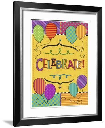 Good Times Celebrate-Holli Conger-Framed Giclee Print