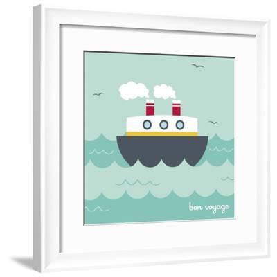 Bon Voyage-Holli Conger-Framed Giclee Print