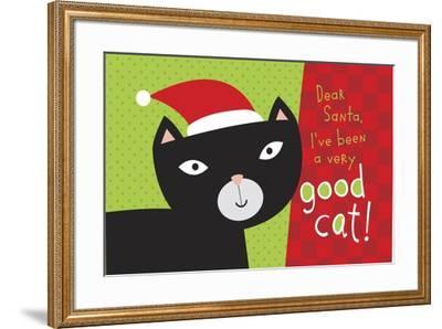 Pet Life cat 2-Holli Conger-Framed Giclee Print