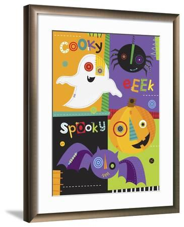 Mish Mash Halloween-Holli Conger-Framed Giclee Print
