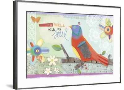 Wings Of Grace 1-Holli Conger-Framed Giclee Print