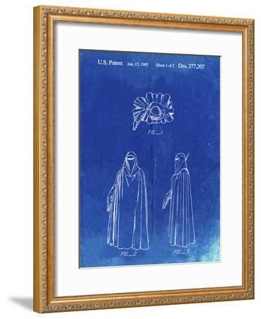 PP598-Faded Blueprint Star Wars Imperial Guard Patent Poster-Cole Borders-Framed Giclee Print