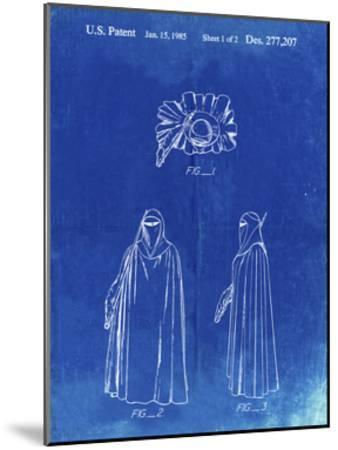 PP598-Faded Blueprint Star Wars Imperial Guard Patent Poster-Cole Borders-Mounted Giclee Print