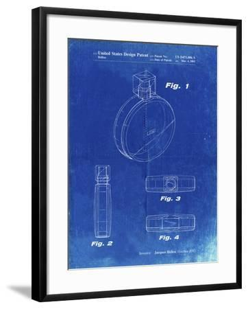 PP630-Faded Blueprint Perfume Jar Poster Giclee Print by Cole Borders    Art com