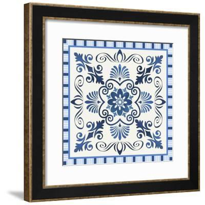 Bohemian Medallion-C-Jean Plout-Framed Giclee Print