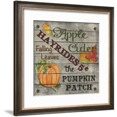 JP3606-Hayrides-Jean Plout-Framed Giclee Print