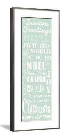 JP3843-Seasons Greetings Sign-Jean Plout-Framed Giclee Print