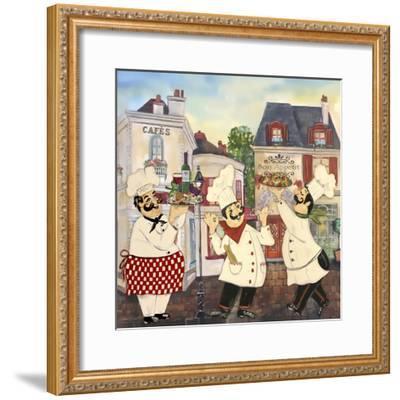 JP3042-Italian Chefs-Jean Plout-Framed Giclee Print