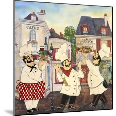 JP3042-Italian Chefs-Jean Plout-Mounted Giclee Print