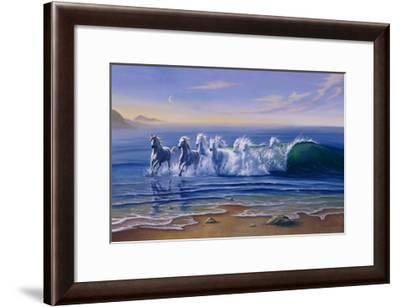 Wild Waters-Jim Warren-Framed Giclee Print