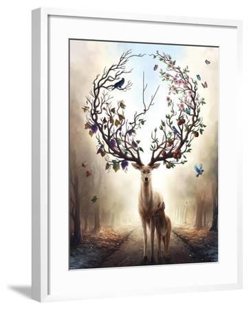 Seasons-JoJoesArt-Framed Giclee Print
