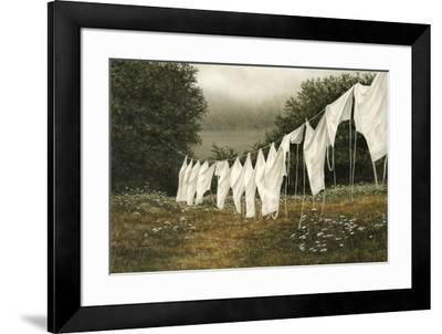 Morning Whites-John Morrow-Framed Giclee Print