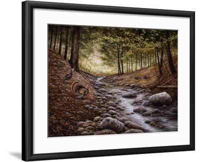Gobbler Run-John Morrow-Framed Giclee Print