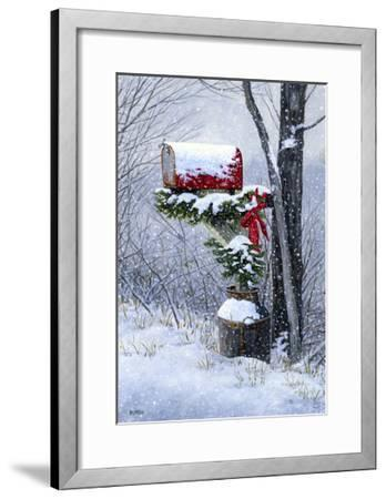Holiday Delivery-John Morrow-Framed Giclee Print