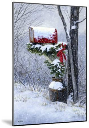 Holiday Delivery-John Morrow-Mounted Giclee Print