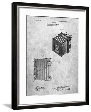 PP753-Slate Borsum Camera Co Reflex Camera Patent Poster-Cole Borders-Framed Giclee Print