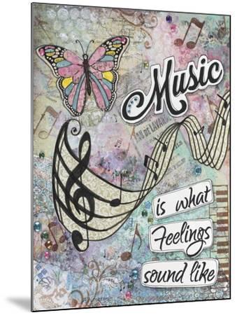 Musical Feelings-Let Your Art Soar-Mounted Giclee Print