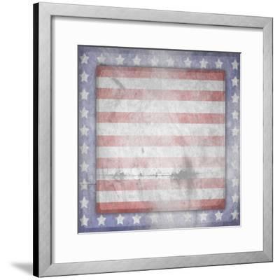 American Born Free Sign Collection V13-LightBoxJournal-Framed Giclee Print