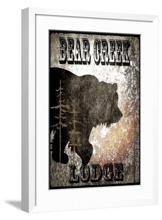 BearCreekLodge_Black-LightBoxJournal-Framed Giclee Print
