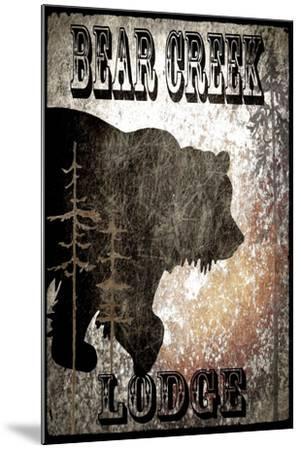 BearCreekLodge_Black-LightBoxJournal-Mounted Giclee Print