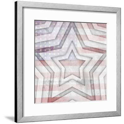 American Born Free Sign Collection V11-LightBoxJournal-Framed Giclee Print