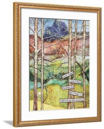 Morning Prayer-Let Your Art Soar-Framed Giclee Print
